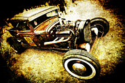 Phil Motography Clark Posters - Rusty Rod Poster by Phil