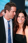 Reynolds Photos - Ryan Reynolds, Sandra Bullock by Everett