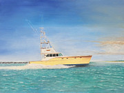 Sportfish Boat Framed Prints - Rybovich 44 Framed Print by Brad Thomas