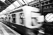 Bahn Metal Prints - S-Bahn Berlin Metal Print by Falko Follert