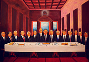 President Paintings - Sacraments by Manuel Sanchez