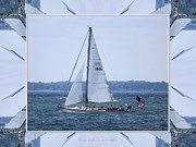Boating Digital Art - Sailboat at Erie Basin Marina by Rose Santuci-Sofranko