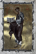 Manuscript Illumination Prints - Saint Luke Print by Granger