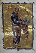 Orthodox Painting Framed Prints - Saint Matthew Framed Print by Granger