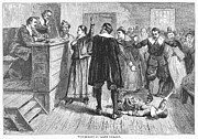 Discrimination Prints - Salem Witch Trials, 1692 Print by Granger
