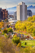 Front Range Prints - Salt Lake City Utah Print by Utah Images