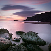 Whitby Prints - Saltwick Bay Print by John Potter