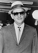 Italian-americans Framed Prints - Sammy Giancana 1908-1975, American Framed Print by Everett