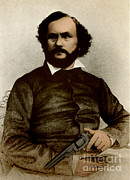 Samuel Posters - Samuel Colt, American Inventor Poster by Science Source