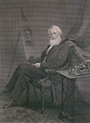 Samuel Framed Prints - Samuel F. B. Morse 1791-1872, Painter Framed Print by Everett
