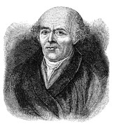 Samuel Photo Framed Prints - Samuel Hahnemann, German Physician Framed Print by