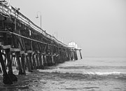 San Clemente Photo Prints - San Clemente Pier Print by Ralf Kaiser