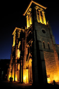 Historical Building Prints - San Fernando Cathedral Print by Iris Greenwell