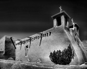 Adobe Prints - San Francisco de Asis Church IV Print by Steven Ainsworth