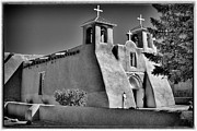 Taos Posters - San Francisco de Asis Mission Church Poster by David Patterson
