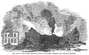 Starkey Prints - San Francisco: Fire, 1851 Print by Granger