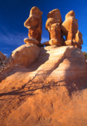 Escalante Grand Staircase Art - Sandstone Hoodoos in Utah Desert by Utah Images