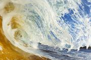 Waves - Sandy Wave Barrel by Quincy Dein - Printscapes