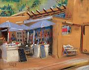 New Mexico Originals - Santa Fe Cafe by Donald Maier