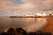 Village By The Sea Posters - Sao Roque at sunrise Poster by Gaspar Avila