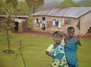 Kenya Pastels - Saplings by Teresa  Harris
