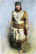 Activist Photo Prints - Sarah Winnemucca Print by Granger