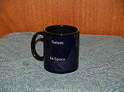 Planet Ceramics - Saturn Custom photo reproduction Coffee mug- Side B by Ryan Demaree