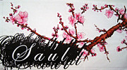 Sakura Paintings - Saul by Cara McCollum