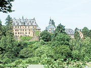 Road Travel Drawings Prints - Schloss Eisenbach Eisenbach Germany Print by Joseph Hendrix