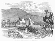 1849 Prints - Scotland: Balmoral Castle Print by Granger