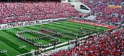Football Photos - Script Ohio by Peter  McIntosh