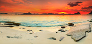 Peaceful Scene Prints - Seascape panorama Print by MotHaiBaPhoto Prints