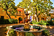 Sedona Framed Prints - Sedona Tlaquepaque Shopping Center Framed Print by Jon Berghoff