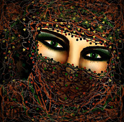 Arabian Mixed Media - Seductive by Natalie Holland