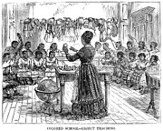 Segregated School, 1870 Print by Granger
