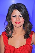 Selena Gomez Framed Prints - Selena Gomez At A Public Appearance Framed Print by Everett