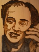 Mixed Media Pyrography Pyrography - Self Portrait Your photo here by Timothy Wilkerson