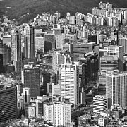 Cityscape Pyrography Prints - Seoul South Korea Print by Eduard Kraft