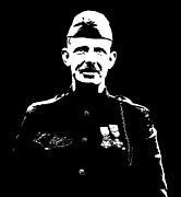 Honor Digital Art Framed Prints - Sergeant Alvin York Framed Print by War Is Hell Store