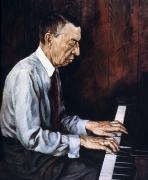 Sergei Rachmaninoff Print by Granger