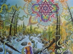 Star Of  David Paintings - Seven Times Seventy by Matthew Fredricey