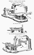 1850s Prints - SEWING MACHINE, 1850s Print by Granger