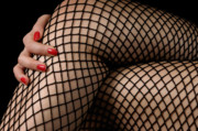 Sexy Photos - Sexy Legs in Fishnet Stockings by Oleksiy Maksymenko