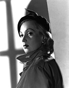 Trenchcoat Framed Prints - Shadow On The Wall, Ann Sothern, 1950 Framed Print by Everett