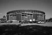 Ballpark Prints - Shea Stadium - New York Mets Print by Frank Romeo