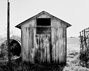 Shed Metal Prints - Shed Iowa Metal Print by Philip Sweeck