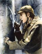 Smoker Framed Prints - Sherlock Holmes Framed Print by Granger