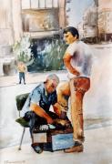 George Siaba - Shoe polisher