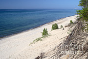 National Lakeshore Prints - Shore Of Lake Superior Print by Ted Kinsman