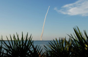 Cape Canaveral Prints - Shuttle Launch Print by David Lee Thompson